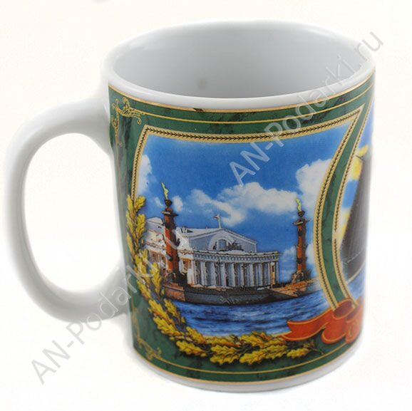 Санкт-петербург на кружке своими руками 71